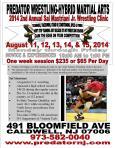 Wrestling Clinic Flyer 2014